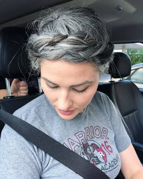 31 Short Gray Hairstyles For Women Super Cuts