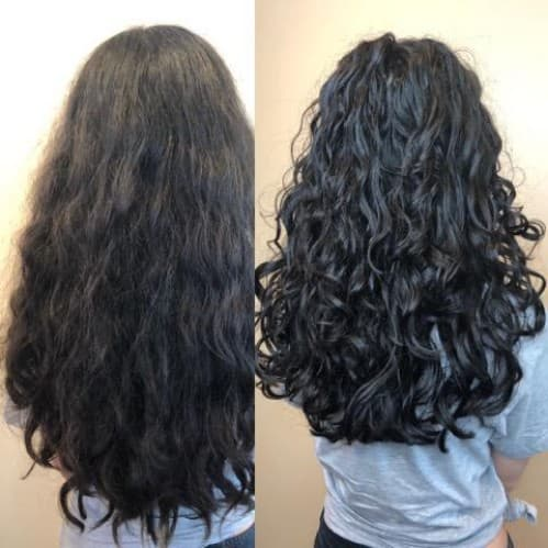 VISIT TO CURLY HAIR STUDIO BEFORE AND AFTER