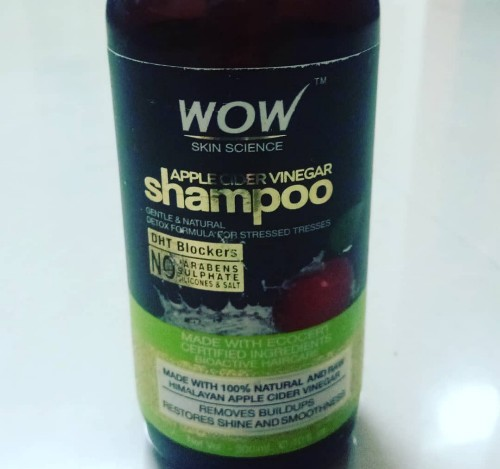 Wow Apple Cider Vinegar Shampoo (Curly girl friendly shampoo)
