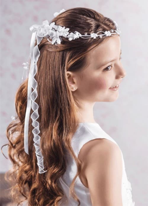 Easy Hairstyle For Holy Communion