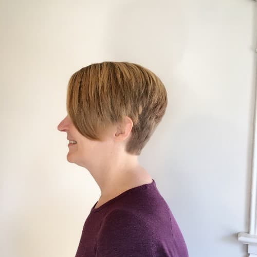 Pixie Cut With Fringe