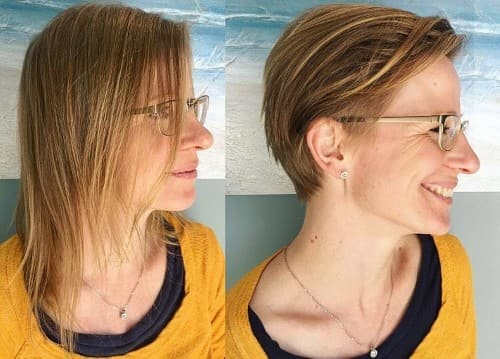 Slacked Back Pixie - Low Maintenance Haircut