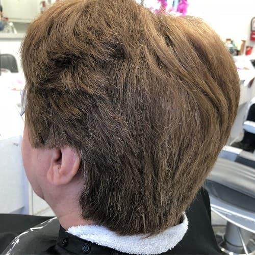 Stacked Bob Haircut