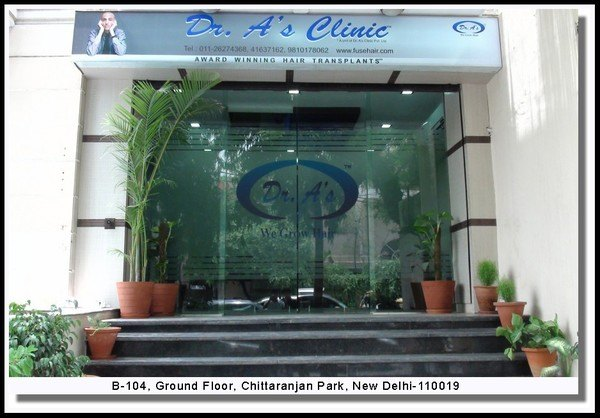 dr arvind poswal hair transplant clinic india
