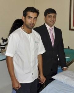 Cricket Athlete Gautam Gambhir Hair Transplant