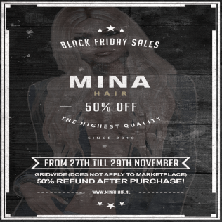 MINA Hair - Black Friday sales