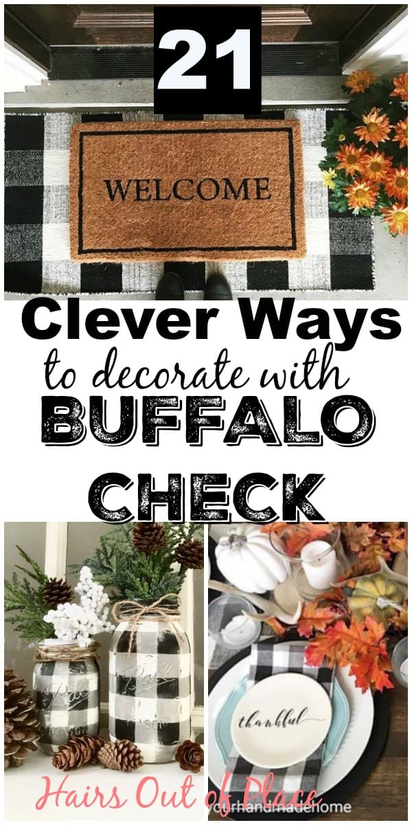 Buffalo Check Decor Ideas For Christmas Fall And Year Round Decorating