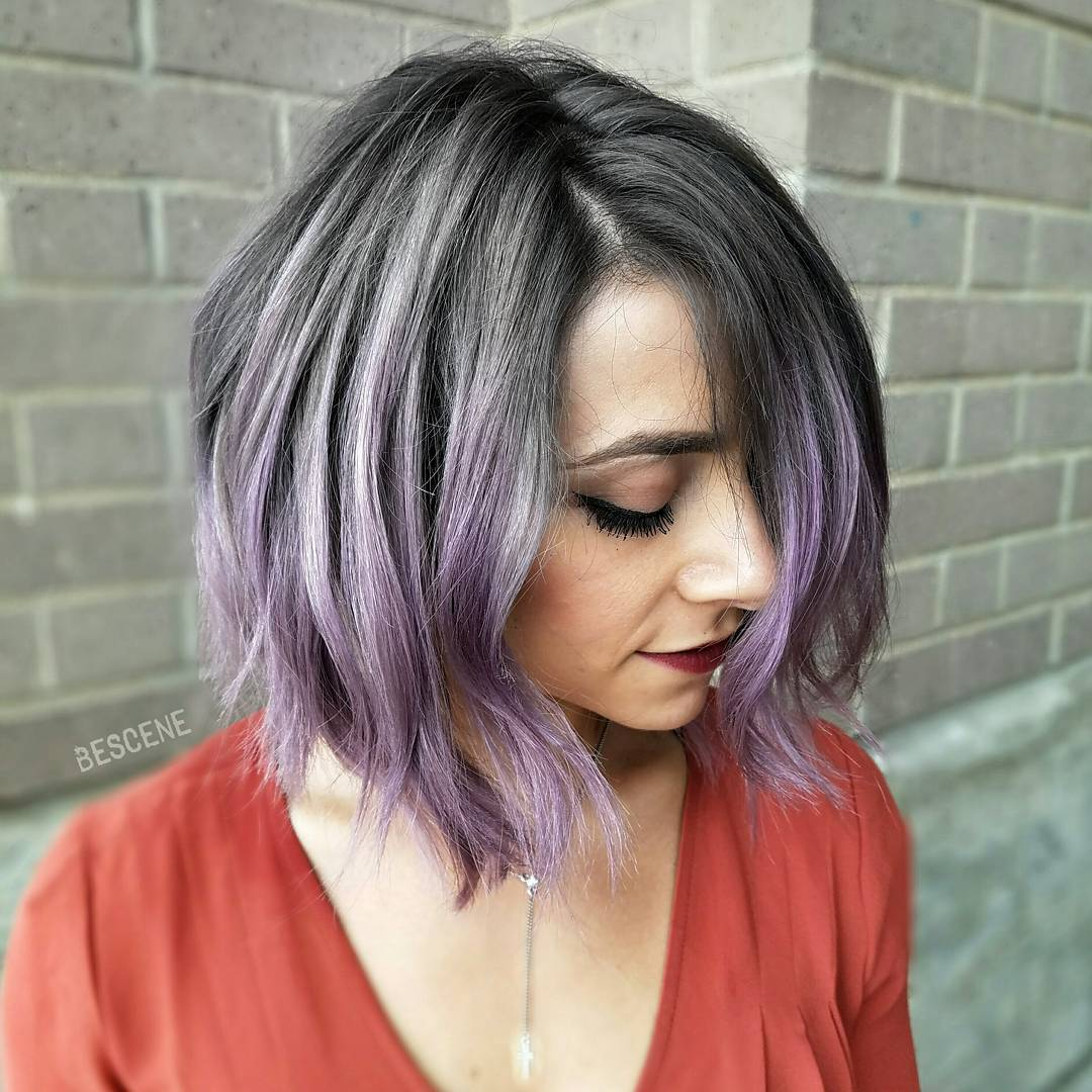 30 Edgy Medium Length Haircuts For Thick Hair January 2019