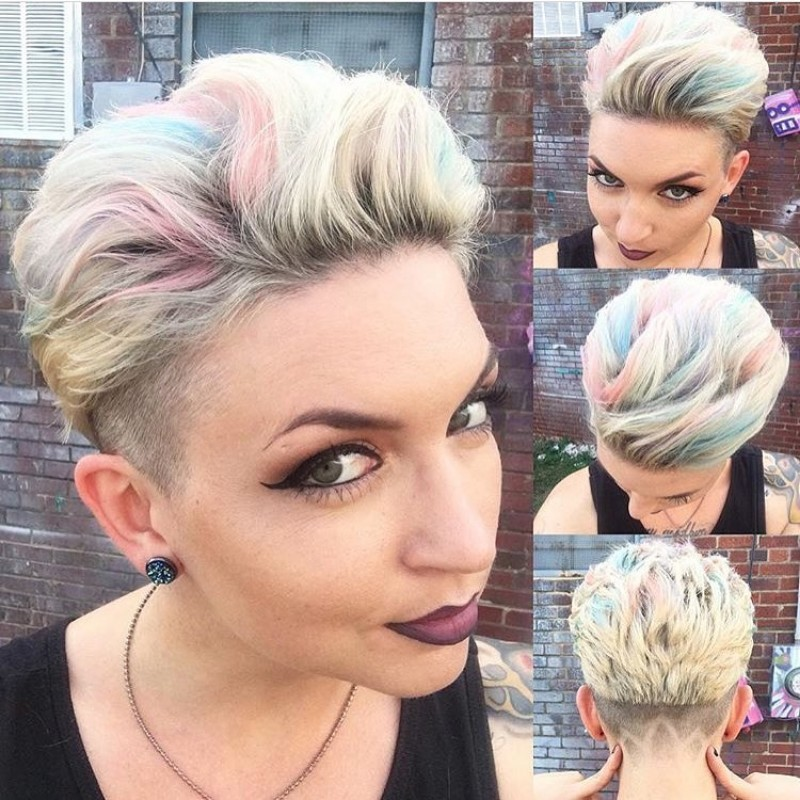 25 Edgy Pixie Undercut Ideas To Try Right Now April 2019