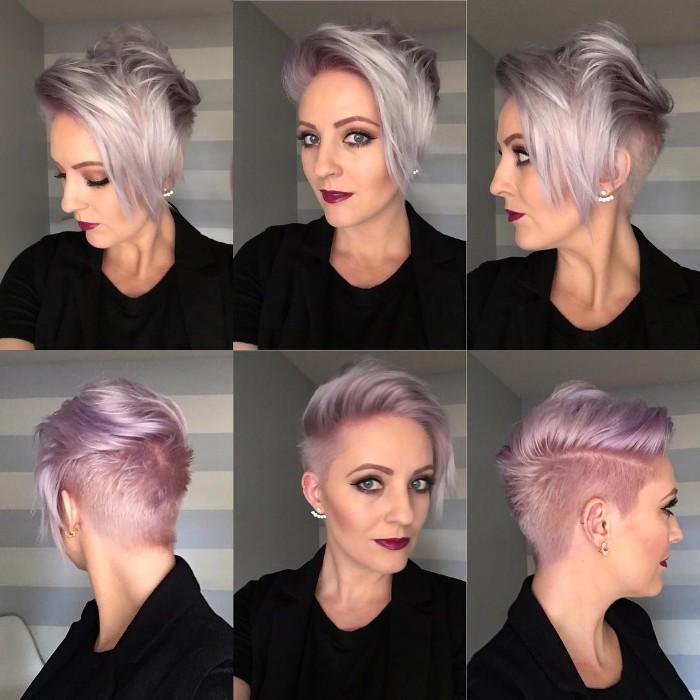 30 Female Undercut Hairstyles For Any Face Shape April 2019