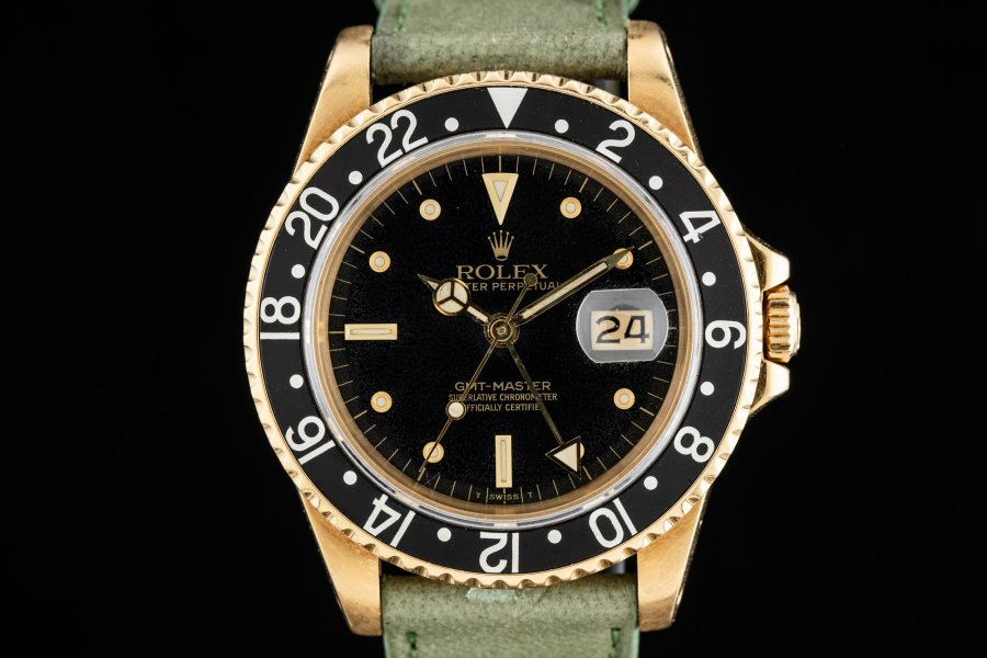 16758 Gold GMT Master Dial