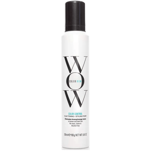 COLOR WOW Brass Banned Correct & Perfect Mousse, Dark Hair