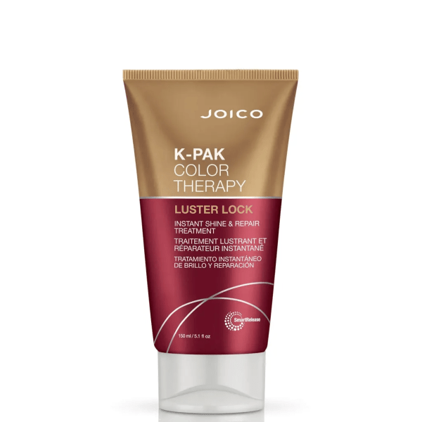 Brand: Joico Range: K-Pak Color Therapy Directions: Apply to dry hair as a pre-shampoo treatment for an extra boost of repair and protection. Or treat clean, damp hair to a dollop of Luster Lock, then rinse, dry, and style as usual. Perfect for fine or thick hair 150ml