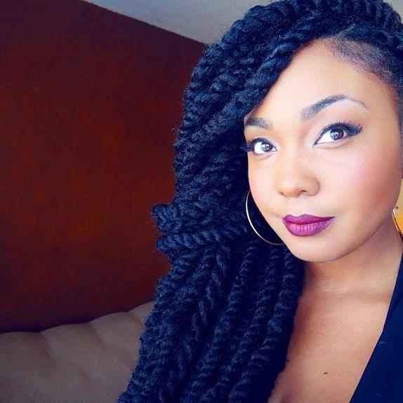 20 Modern Jumbo Twists For 2018 HairstyleCamp