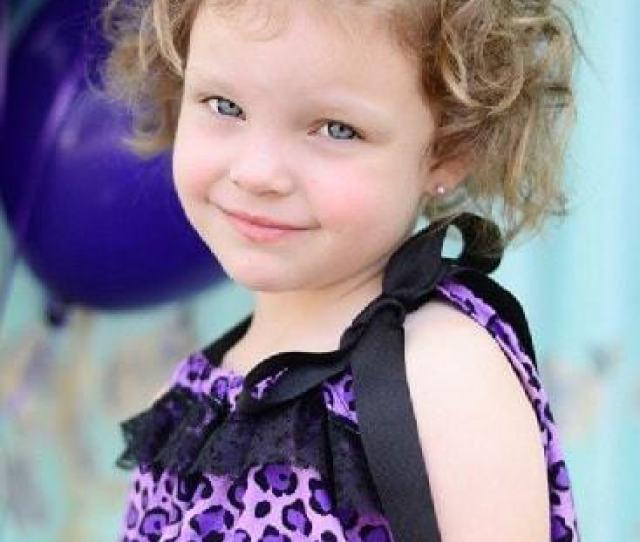 Short Curly Hair For Little Girls
