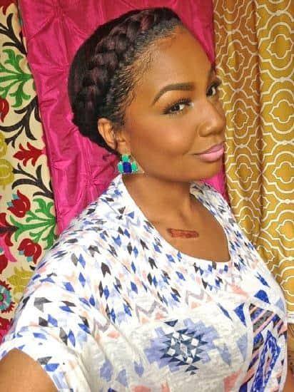 goddes braids for nigerian women