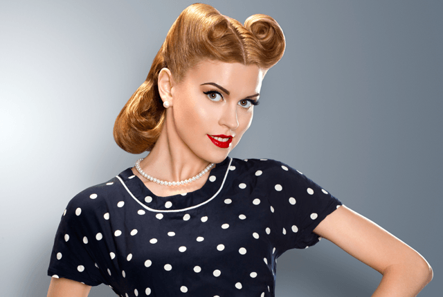 35 Vintage Victory Rolls From 1940s Any Woman Can Copy