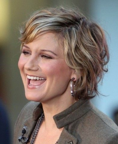 Fine Hair Round Face Short Hairstyles For Over 50 94