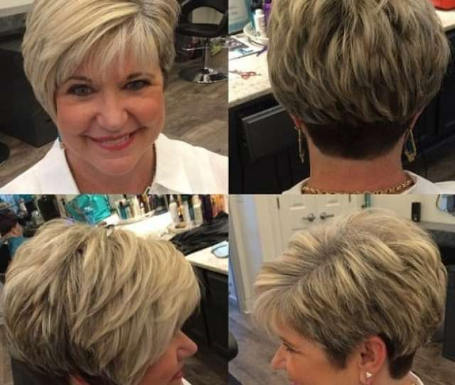 There Are Plenty Of Different Options For Short Hairstyles For Women Over  With Round Faces