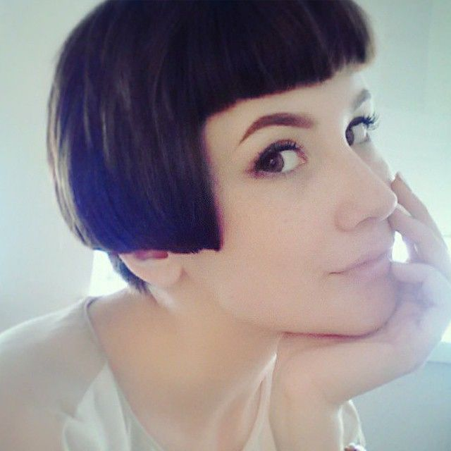 Image Result For Short At Back Long At Front Hairstyles