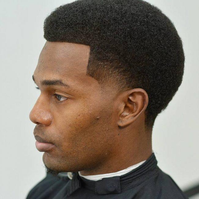 Curl S Cut Low Fade