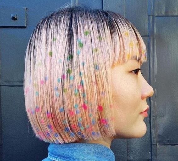 Rainbow Hair 30 Crazy Rainbow Hair Color Inspirations