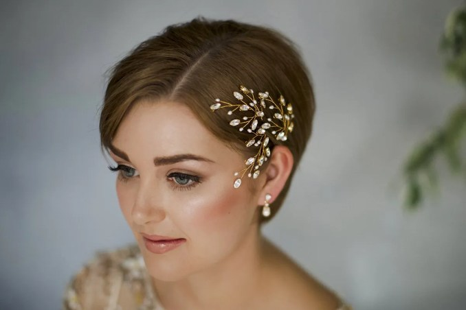Image Result For Vintage Wedding Hairstyles For Short Hair