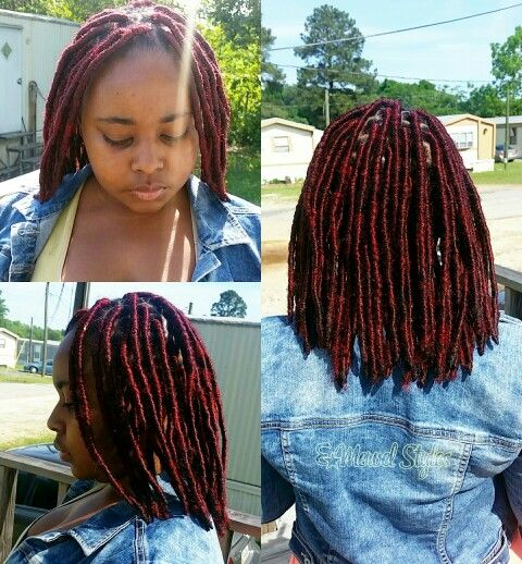 35 Short Faux Locs And Protective Goddess Locs Styles