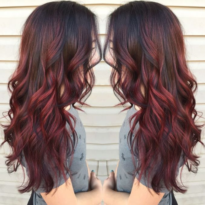 Image Result For Red Black Hair Styles