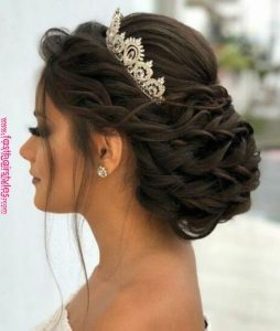 crown quince braided chignon