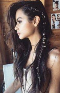 long side braid rings
