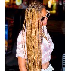 extra length blonde beyonce braiding