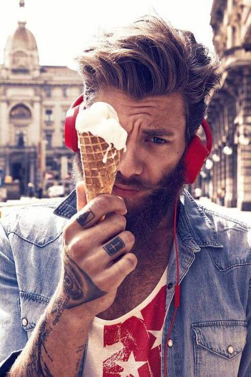 25 Tattooed Guys With Amazing Hairstyles Hairstyles