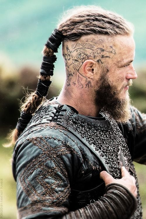 Ragnar Lothbroks Hairstyle From Vikings
