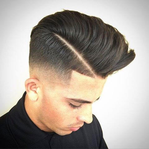 The Side Part Pompadour For A Classy And Modern Look