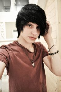 Image Result For Emo Long Hairstyles For Guys