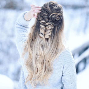 Prom Hairstyles Trending on Instagram   Inception Fishtail   Hairstyle on Point