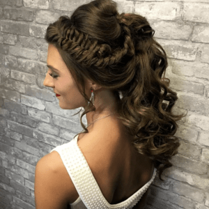 Prom Hairstyles Trending on Instagram   Fancy Fishtail Pony   Hairstyle on Point