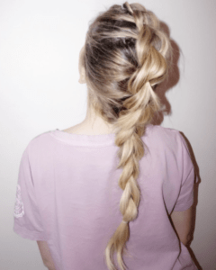 Prom Hairstyles Trending on Instagram   Mohawk Braid   Hairstyle on Point