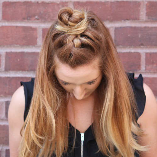 Cute Braided Bun Hairstyles 2016 2019 Haircuts