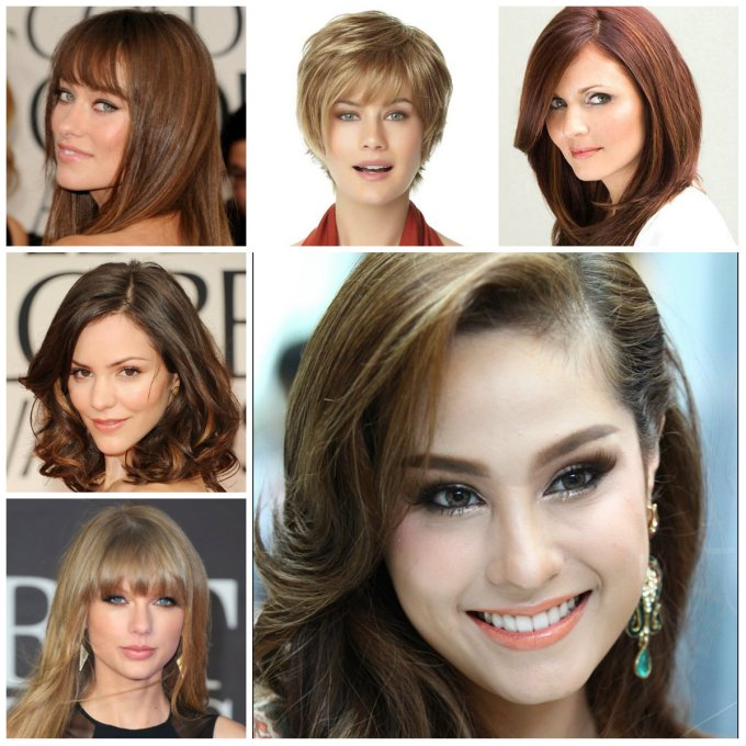the right hairstyles for your face shape 2016   2019 haircuts