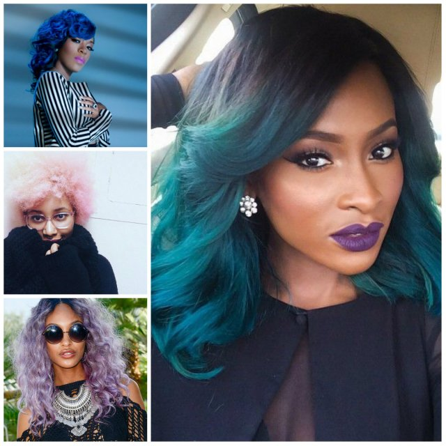 2016 bold hair shades for black women | 2019 haircuts