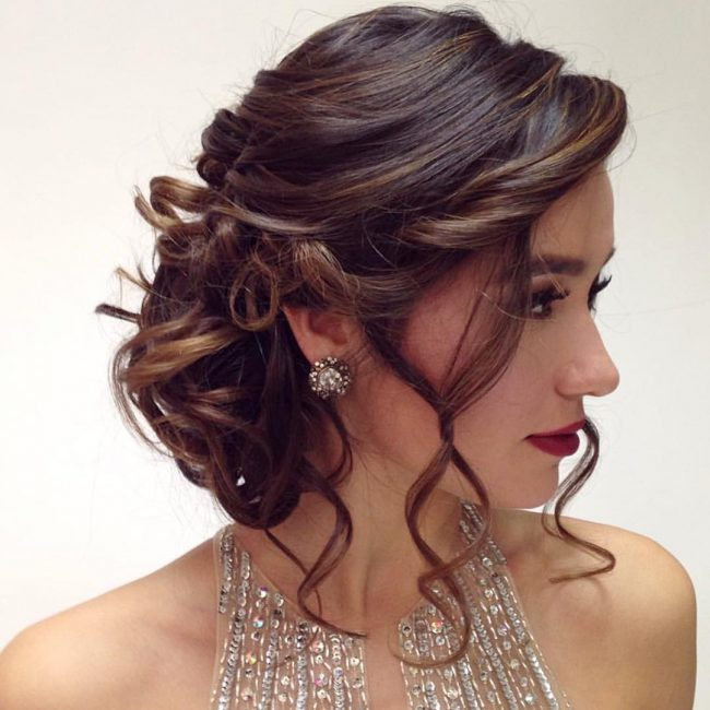 Formal Updo Hairstyles 2019 Haircuts Hairstyles And