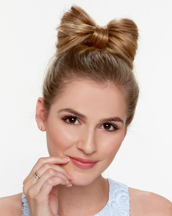 Cute Bow Hairstyle Ideas 2019 Haircuts Hairstyles And