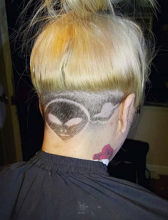 Females Undercuts With Hair Tattoos For 2017 2019