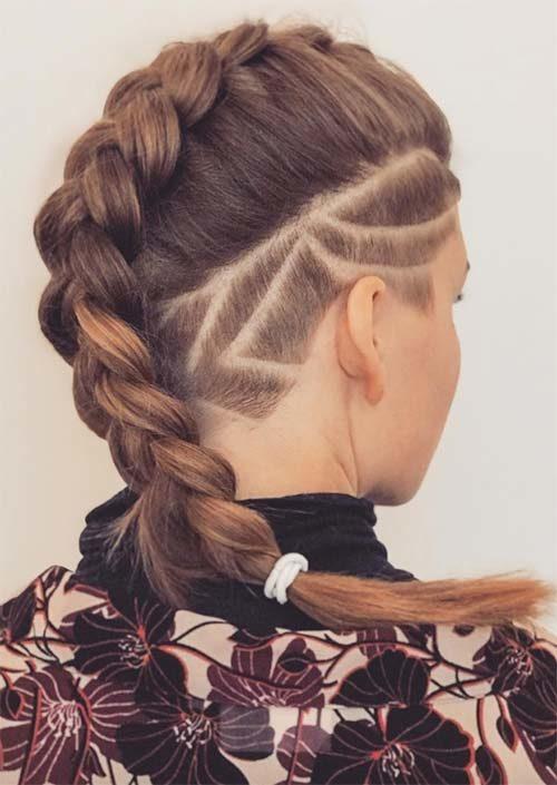 Long Undercut Hairstyles For Daring Women 2019 Haircuts