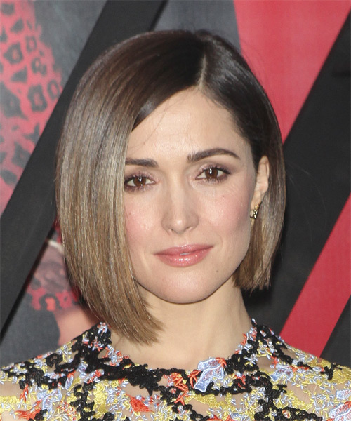 Rose Byrne Medium Straight Formal Bob Hairstyle