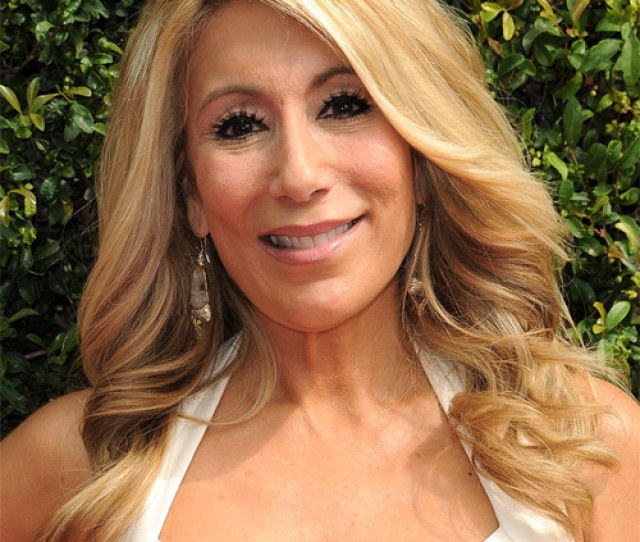 Lori Greiner Long Wavy Formal Hairstyle Honey Blonde Hair Color With Light Blonde Highlights