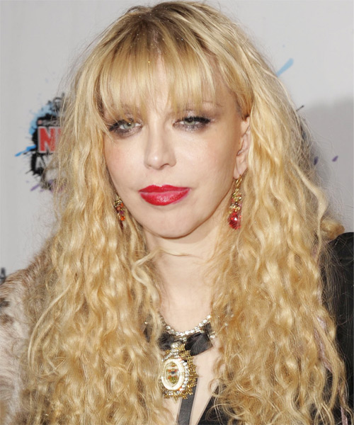Courtney Love Long Wavy Casual Hairstyle