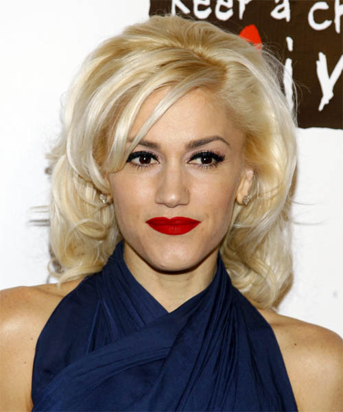 Gwen Stefani Hairstyles In 2018